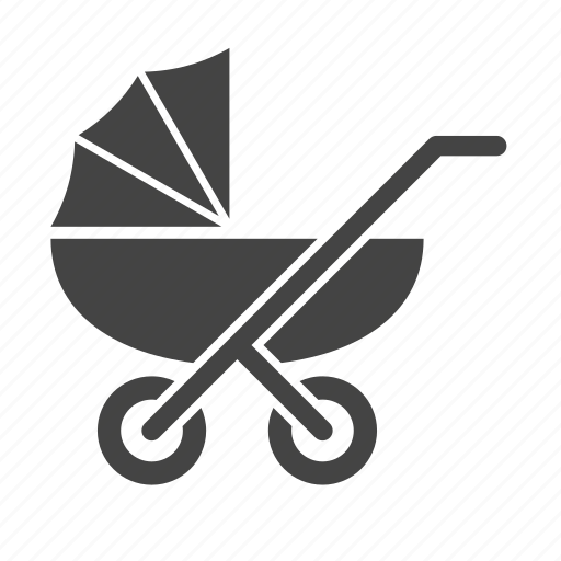 baby, carriage, kid, newborn, pram, stroller icon