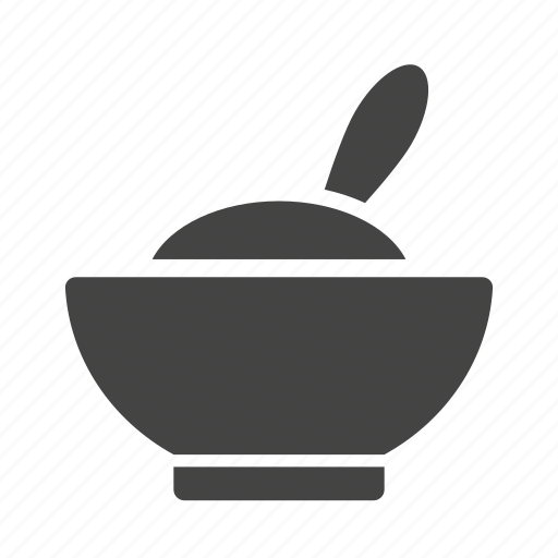 bowl, dinner, dish, eat, food, meal, spoon icon