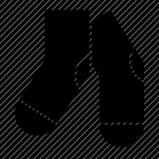 footgear, socks, stockings icon