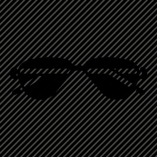 dark, glassess, shades, sunglasses icon