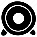bass speaker, loudspeaker, music speaker, sound, volume speaker, woofer icon