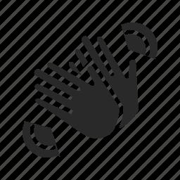finger, fingers, gesture, gestures, good, good-gesture, interaction icon