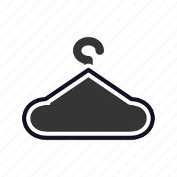 hanger, hanger-caution, hanger-error, hanger-exclamation, hanger-problem, hanger-sign, hazard icon