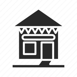 apartment, construction, furniture, home-hut, house, property, villa icon
