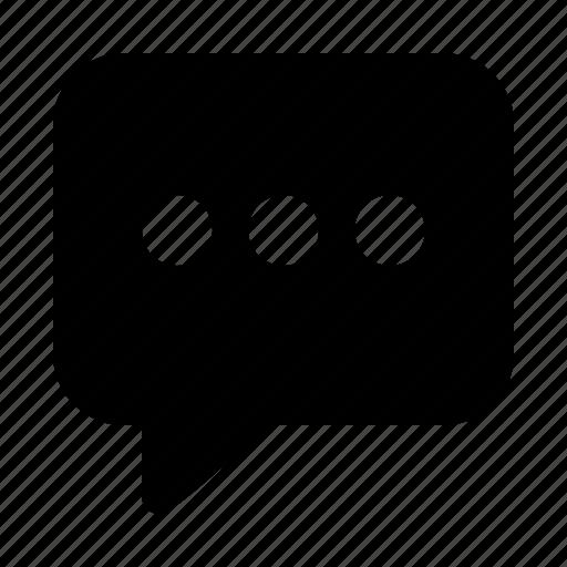 chat, comment, communication, conversation, message, talk icon