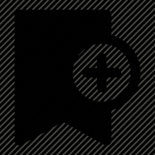 add, bookmark, favorite, new icon