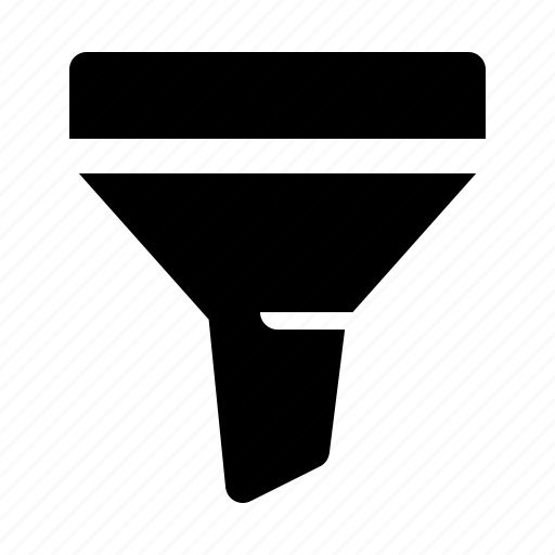 cone, conversion, funnel icon