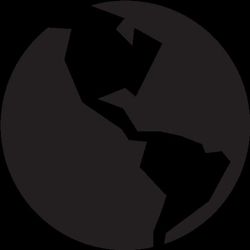full, globe icon