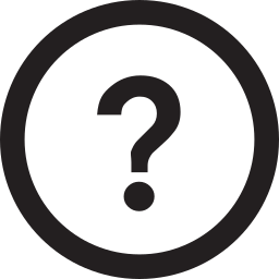 circle, question icon