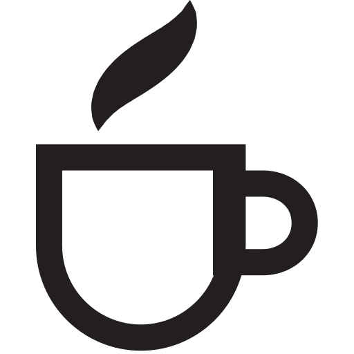 cup, line icon