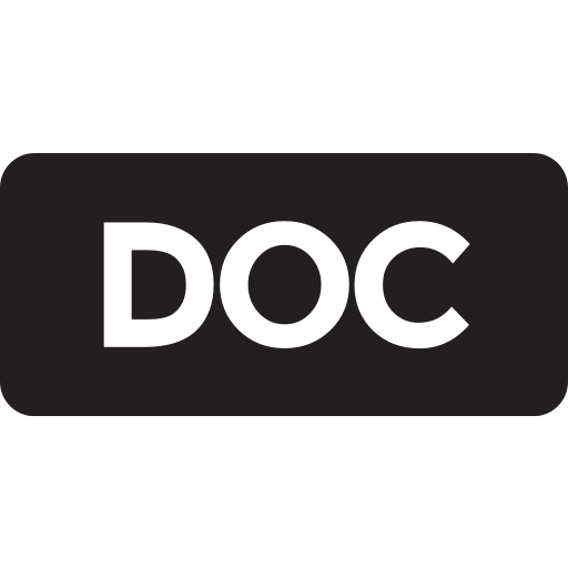 doc, tag icon