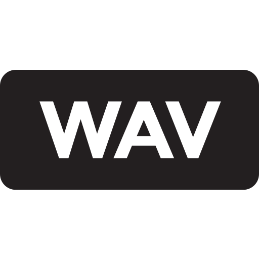 tag, wav icon