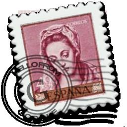 email, espanya, gmail, kareere, stamp icon