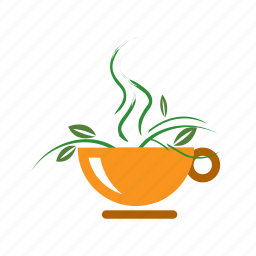 green, healthy, organic, tea icon