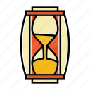 business, clock, hourglass, loading, startup, time icon