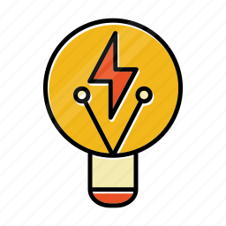 bulb, business, concept, idea, light, startup icon