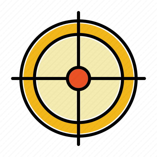 aim, business, crosshair, goal, startup, target icon