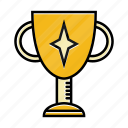achievement, business, cup, prize, startup, trophy