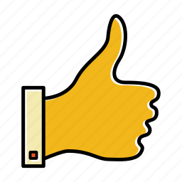 approve, business, favorite, like, startup, thumb up icon