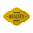 badge, banner, certificate, premium, product, quality, star