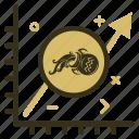 aquarius, aquariuscoin, crypto, currency, graph, money icon
