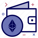 bag, crypto, currency, ethereum, ethereumcoin, money, wallet