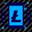 app, crypto, currency, lite, litecoin, money, splash icon