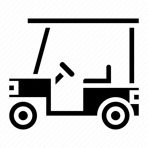 Automobile, car, cart, golf icon - Download on Iconfinder