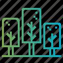 garden, jungle, pine, tree icon