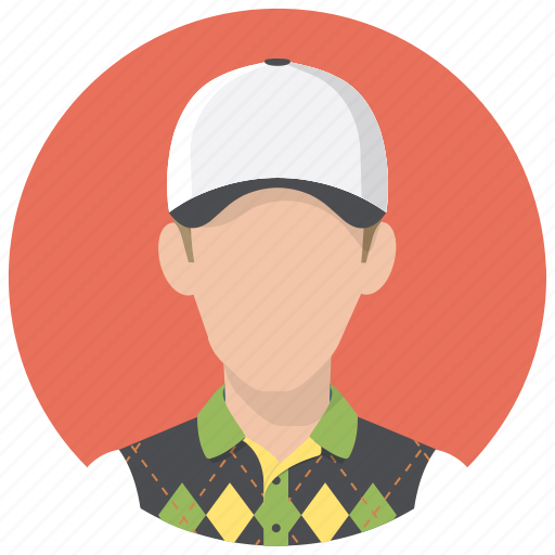 avatar, golf, person, playerman, sportsman icon