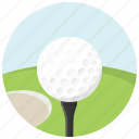 ball, game, golf, golf course, play, play golf, sport icon