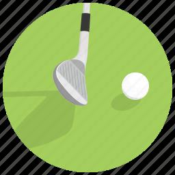 ball, game, golf, golf putter, sport icon