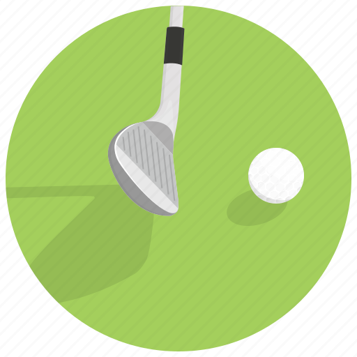 ball, game, golf, golf putter, sport icon