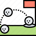 game, tactics, golf, planning, strategy icon