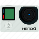 cam, camera, go pro, gopro, hero, photography, picture icon