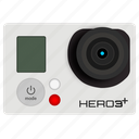 cam, camera, go pro, gopro, hero, image, picture icon