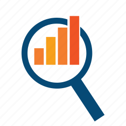 analyze, chart, dynamics, effectiveness, indicator, levels, market, monitoring, performance, reports, scope icon