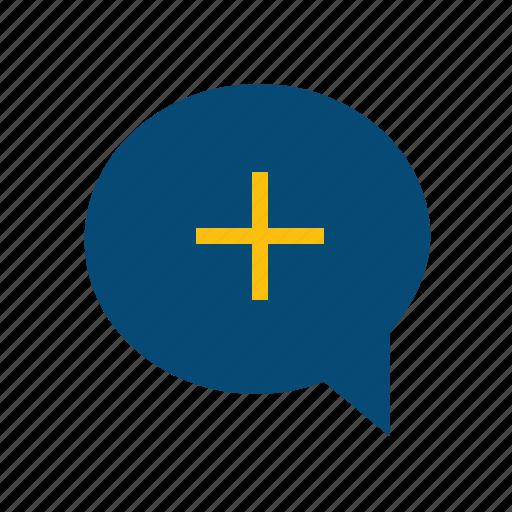 add, follow, invitation, invite, join, request, subscribe icon