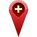 add, location, pin icon