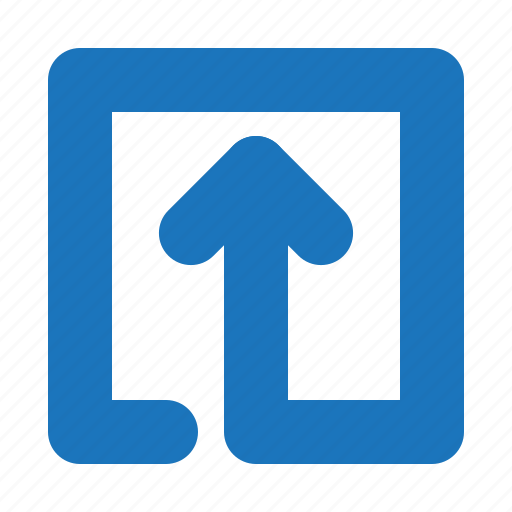 align, arrow, center, direction, up icon