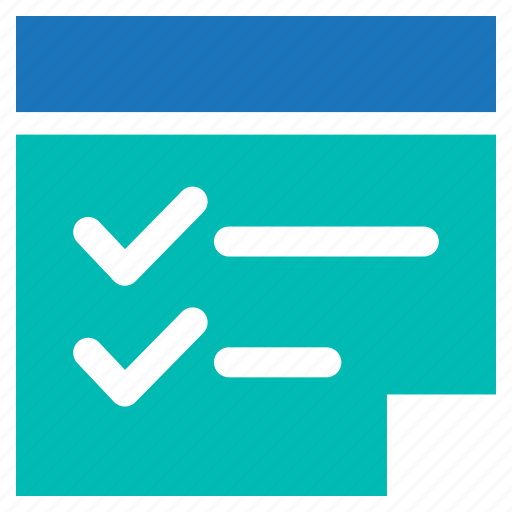 checklist, list, task, to do list icon