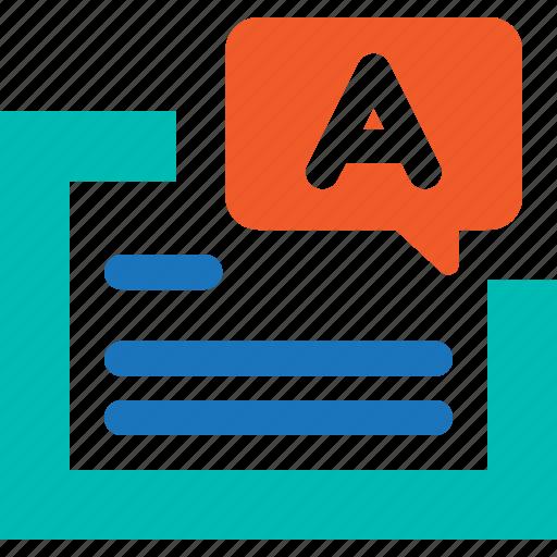 alphabet, code, language, translate icon