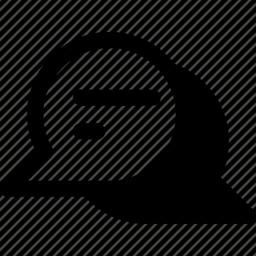 bubble chat, chat, communication, conversation, message icon