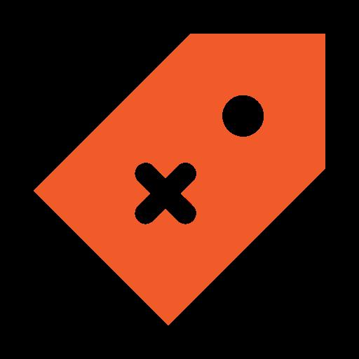 delete, ecommerce, error, price, price tag icon