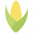 corn cob, diet food, healthy food, nutrition food, salad icon
