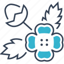 jasmine, plant, seeds icon