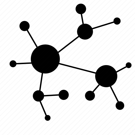 analysis, connection, data, graph, molecule, structure, tree icon