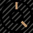 analysis, data, graph, pie, report icon