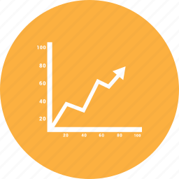 analysis, analytics, business, chart, earnings, finance icon