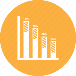 analytics, graph, sales, statistics icon